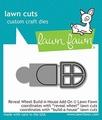 Lawn Fawn Snijmal Reveal Wheel Build-A-House Add-on LF2049