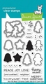 Lawn Fawn Clear Stamp How You Bean Cookie Add-On LF2033