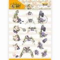 Precious Marieke knipvel Nature's Gift - Purple Gift CD11352