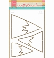 Marianne Design Stencil Mountains PS8045
