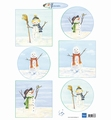 Marianne Design Knipvel Tiny's Snowmen IT613
