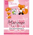 Marianne Design Collectables Eline's Cute Fox COL1474