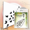 Lavinia Clear Stamp Flutterbies LAV556