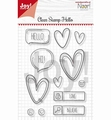 Joy! Crafts Clear Stamp Hello 6410/0497