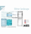 Joy! Crafts Papierblok Winter Landscape 6011/0640