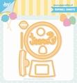 Joy Crafts Snijmal Jocelijne Gumball Sweets 6002/1366