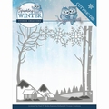 Yvonne Creations Die Sparkling Winter - Landscape YCD10187