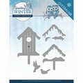 Yvonne Creations Die Sparkling Winter - Birdhouse YCD10190