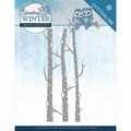 Yvonne Creations Die Sparkling Winter - Birch Trees YCD10188