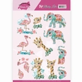 Yvonne Creations knipvel Kitschy Lala - Animals CD11419
