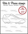 Crealies Clear Stamp Bits & Pieces Sport Shoe CLBP177