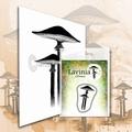 Lavinia Clear Stamp Mini Meadow Mushroom LAV561