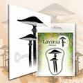 Lavinia Clear Stamp Meadow Mushroom LAV563