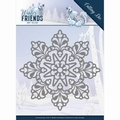 Amy Design Snijmal Winter Friends - Snow Crystal ADD10191
