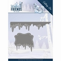 Amy Design Snijmal Winter Friends - Ice Border ADD10192