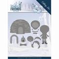 Amy Design Snijmal Winter Friends - Eskimo ADD10193