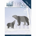 Amy Design Snijmal Winter Friends - Polar Bears ADD10195