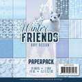Amy Design Paper pack Winter Friends ADPP10030