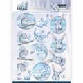 Amy Design knipvel Winter Friends - Arctic Friends CD11405