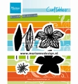 Marianne Design Craftables Open Flowers CR1493