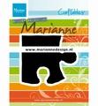 Marianne Design Craftables Puzzle Piece CR1491