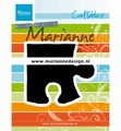 Marianne Design Craftables Puzzle Piece CR1491