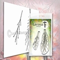 Lavinia Clear Stamp Fern Branch LAV578