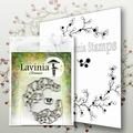 Lavinia Clear Stamp Berry Wreath LAV568