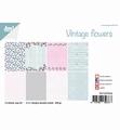 Joy! Crafts Papierset Vintage Flowers 6011/0649