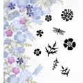 Card-io Majestix Clear Stamp Wild Flowers CDMAWI-05