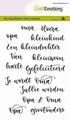 Craft Emotions Clear Stamp Handletter Opa-Oma 130501/1832