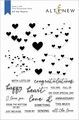 Altenew Clear Stamp All the Hearts ALT2905