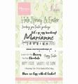 Marianne Design clear stamp Marleen's Hello Spring CS1044