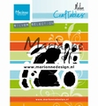 Marianne Design Craftables Bunny by Marleen CR1498