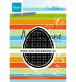 Marianne Design Craftables Cross Stitch Egg CR1497