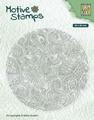 Nellie Snellen Texture Clear Stamp Flower Power TXCS012
