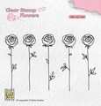 Nellie Snellen Clear Stamp Flowers Roses FLO025