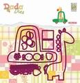 Nellie Snellen DADA Dies Giraffe in Car DDD025