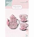 Joy Crafts Snijmal Vintage Tea Party 6002/1470
