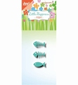 Joy Crafts Snijmal Little Happiness Vis - Visgraat 6002/1457
