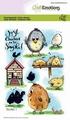 Craft Emotions Clear Stamp Chicken 1   130501/1666