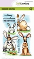 Craft Emotions Clear Stamp Bunny 1   130501/1664