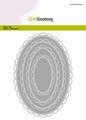 Craft Emotions Snijmal Big Nesting Die Open Oval 115633/0924