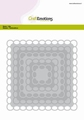 Craft Emotions Snijmal Big Nesting Die Squares 115633/0932