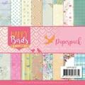 Jeanine's Art Papierblok Happy Birds JAPP10013