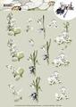 Precious Marieke knipvel Snowflowers CD11098