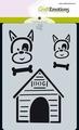 Craft Emotions Mask Stencil Odey & Friends 185070/0114
