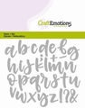 Craft Emotions Snijmal Alfabet Handlettering 115633/0427