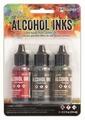 Ranger Alcohol Ink set Tuscan Garden TIM20707