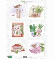 Marianne Design Knipvel Els French Antique Herbes EWK1273